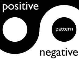 positive negative pattern