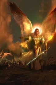Archangel Michael. The angelic realm's mission is to protect, nurture, and guide humanity.