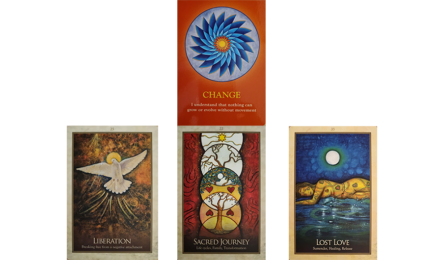 Hi everyone ~ this reading is for the 12th ~ 18th September 2021, but I trust as always that whenever it finds you that the Spiritual & Angelic Realms will have a message for you in this reading that also applies at that time. cards: Change, Liberation, Sacred Journey ,Lost Love.